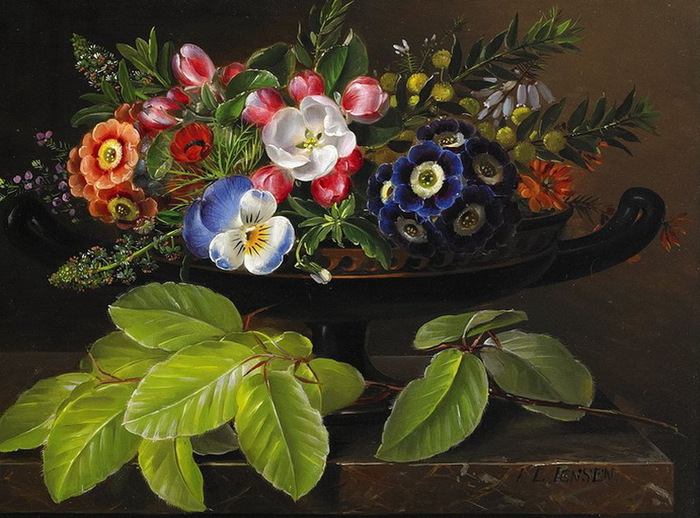 Johan Laurentz Jensen 1800-1856 - Danish painter - Tutt'Art@ (11) (700x518, 143Kb)