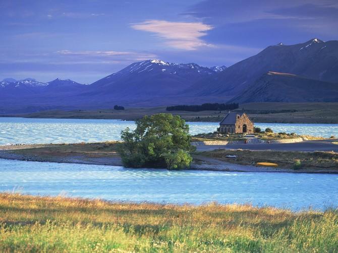 Церковь Доброго Пастыря новая зеландия фото 1 (670x502, 97Kb)