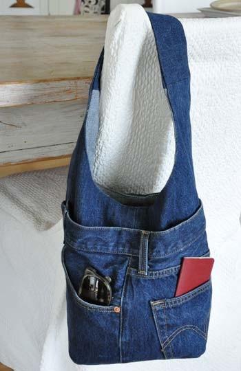 рюкзак из джинс выкройка