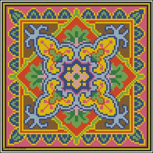 Восточными узорами для вышивки 172
