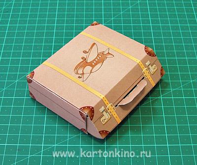 Как сделать игрушечный чемодан 165