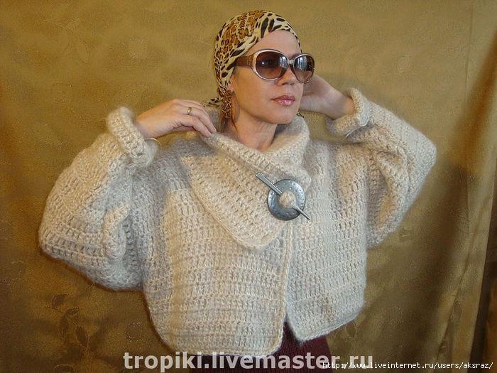 Вязание в стиле бохо из мохера