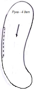выкройка кролика из мешковины (5) (149x379, 22Kb)