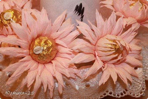 хризантемы из конфет (3)