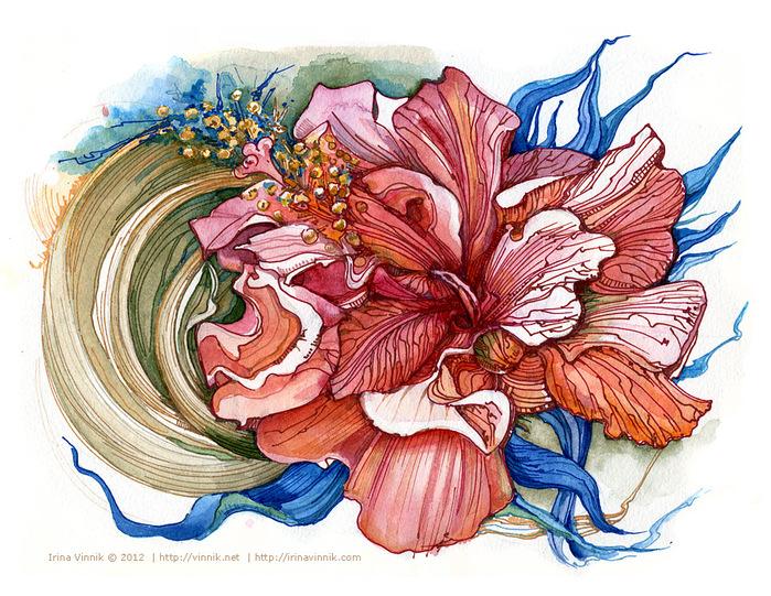 Цветок винник
