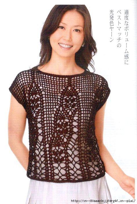 Блузочки из японских журналов