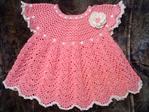 Вязание нарядного платья для девочки крючком, понятные схемы и описание для начинающих http...