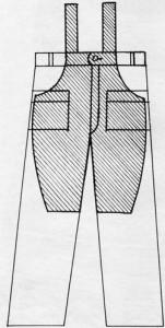 Джинсовый комбинезон своими руками из старых джинсов