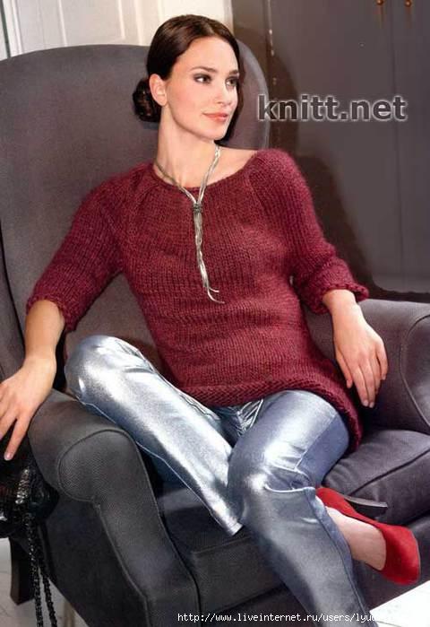 vyazanyj-spicami-pulover-nora (480x700, 144Kb)