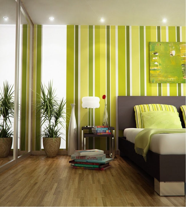 2013-green-color-bedrooms-interior (630x700, 269Kb)