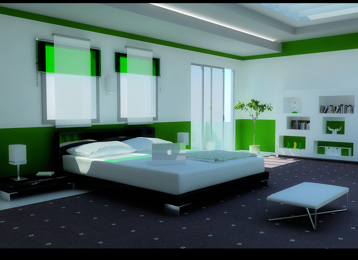 1335199500_Modern-Green-Bedroom (700x509, 137Kb)