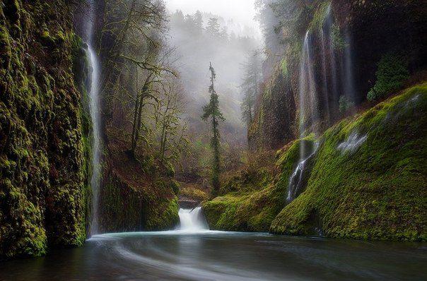 Ущелье реки Колумбия, США (604x398, 61Kb)