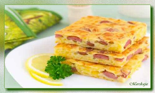 Пирог с сыром и сосисками (500x300, 37Kb)