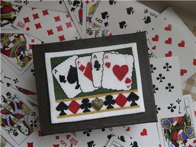 Схемы вышивки игральных карт
