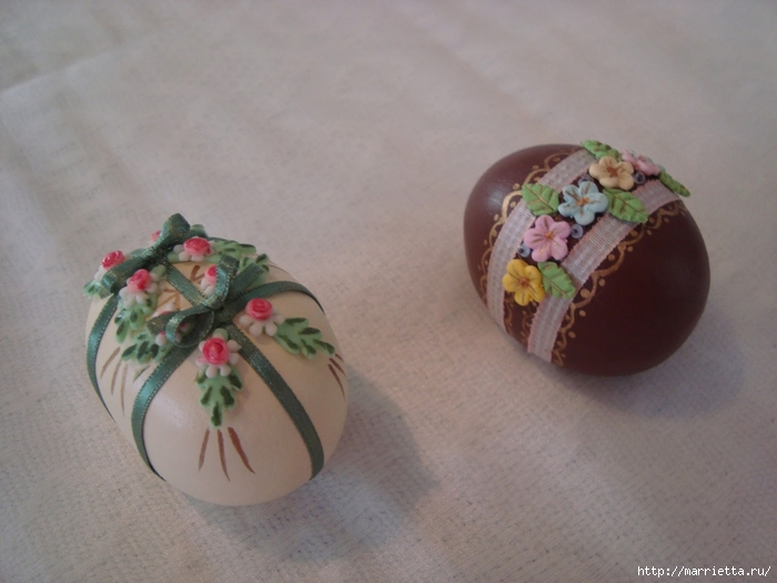 украшение пасхальных яиц сахарной мастикой (2) (700x525, 214Kb)