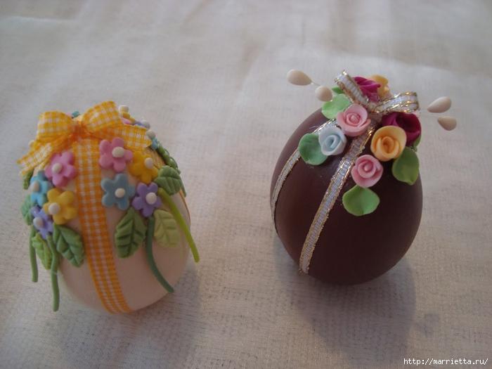 украшение пасхальных яиц сахарной мастикой (7) (700x525, 232Kb)