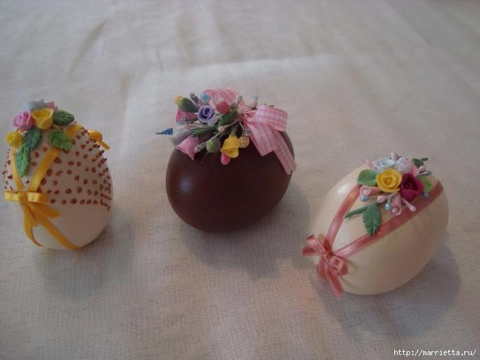 украшение пасхальных яиц сахарной мастикой (8) (700x525, 221Kb)