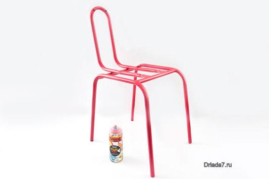 Как сделать обивку для стула