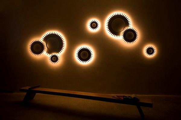 Schproket lighting system креативные светильники фото 3 (600x400, 108Kb)