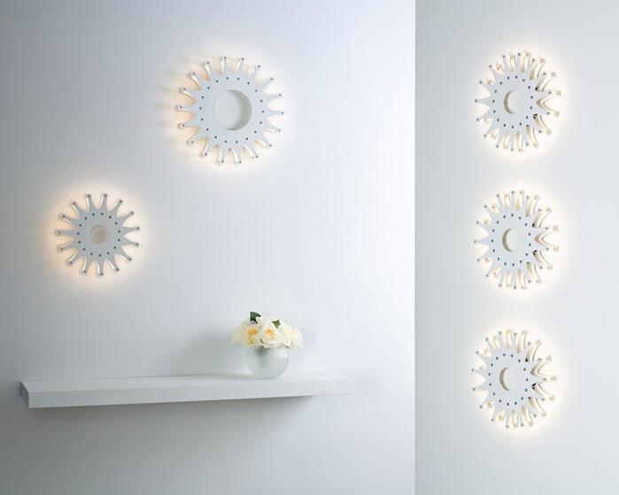 Schproket lighting system креативные светильники фото 5 (700x559, 44Kb)