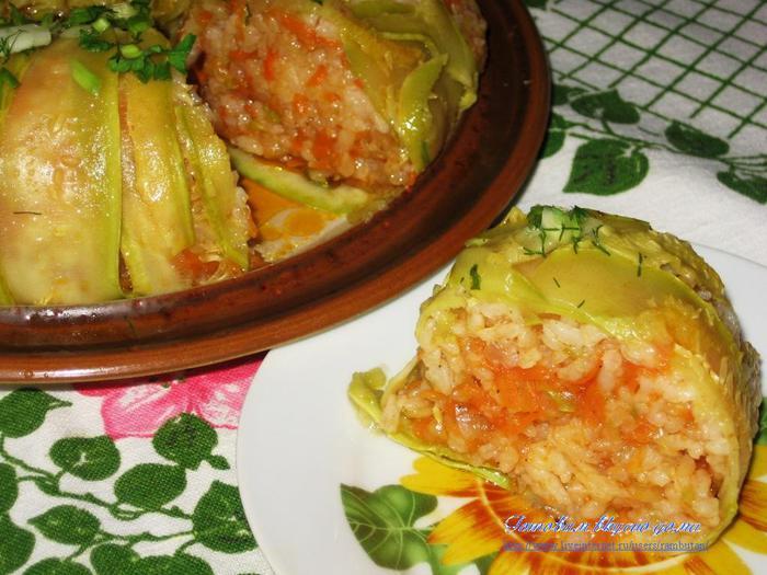 Запеканка из кабачков с рисом в мультиварке рецепты