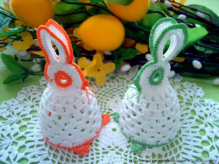 """钩针:""""兔子和鸡"""" - maomao - 我随心动"""