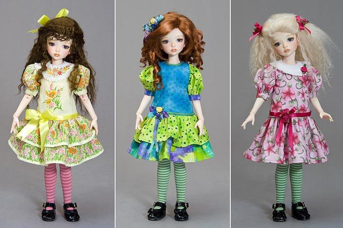 Кукольные наряды своими руками 25