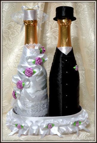 Подарок на атласную свадьбу своими руками