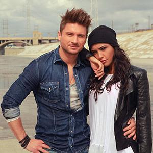 Фото с сергея лазарева с девушкой