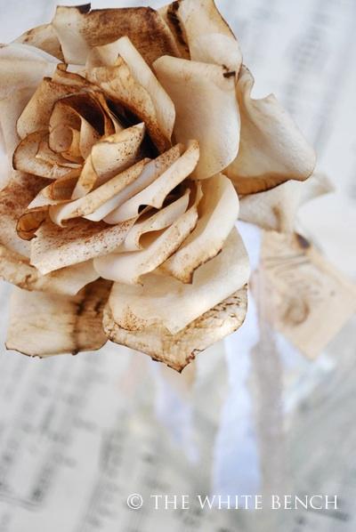 Винтажные розы из кофейных фильтров (25) (400x598, 75Kb)