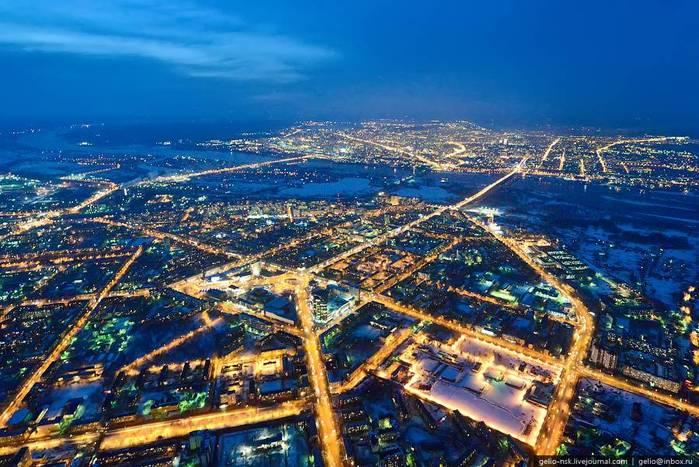 Список городов миллионников России в красивых фотографиях