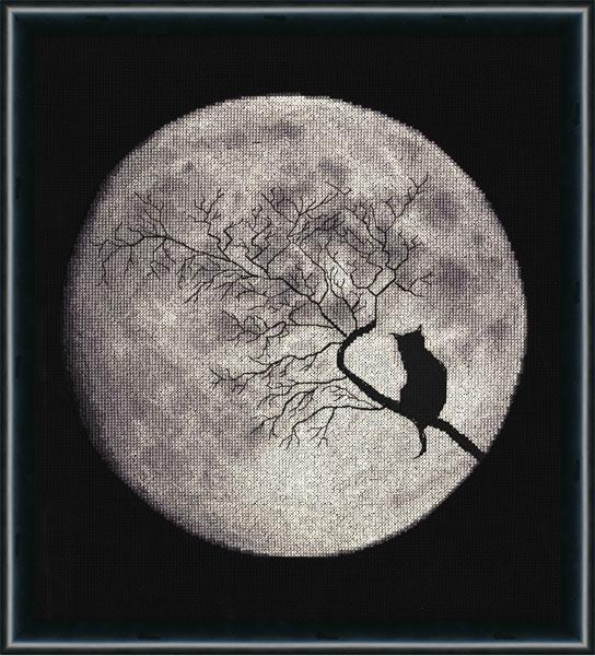 Лунная соната вышивка крестом