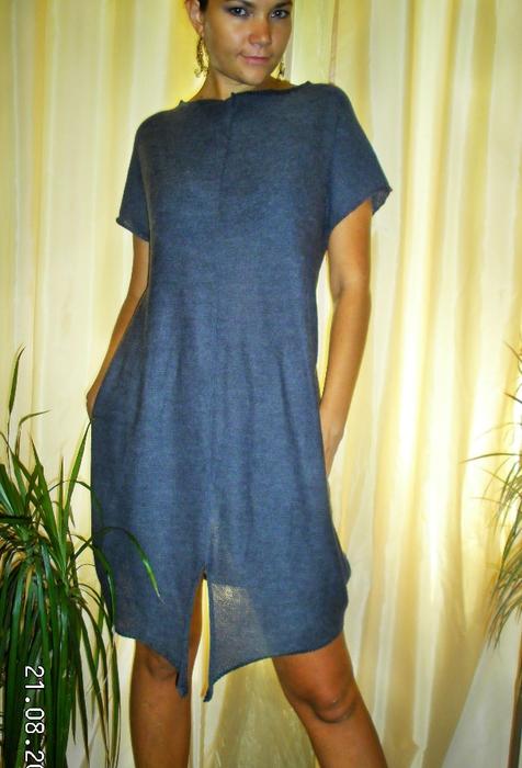 Платье на вязальной машине фото