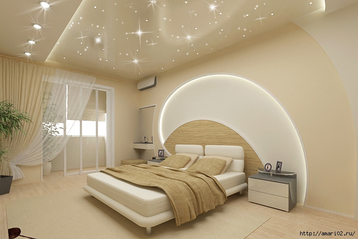 Bedroom wall ceiling designs