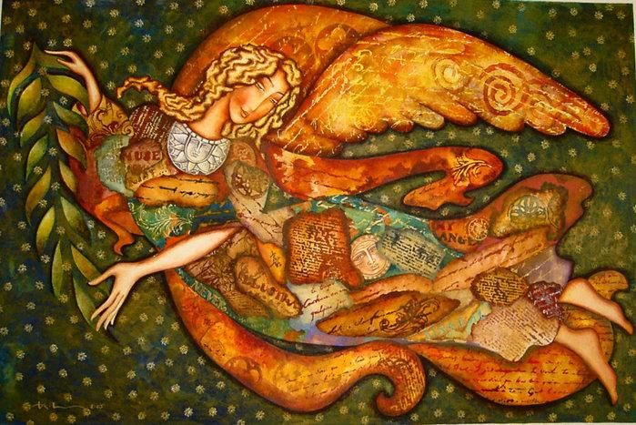 картины американской художницы Холли Сьерра 4 (700x467, 144Kb)
