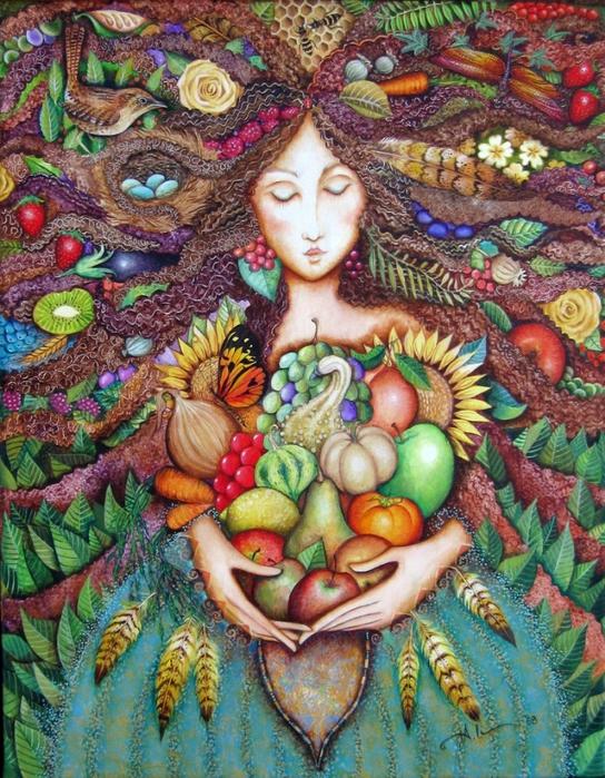 картины американской художницы Холли Сьерра 7 (544x700, 400Kb)