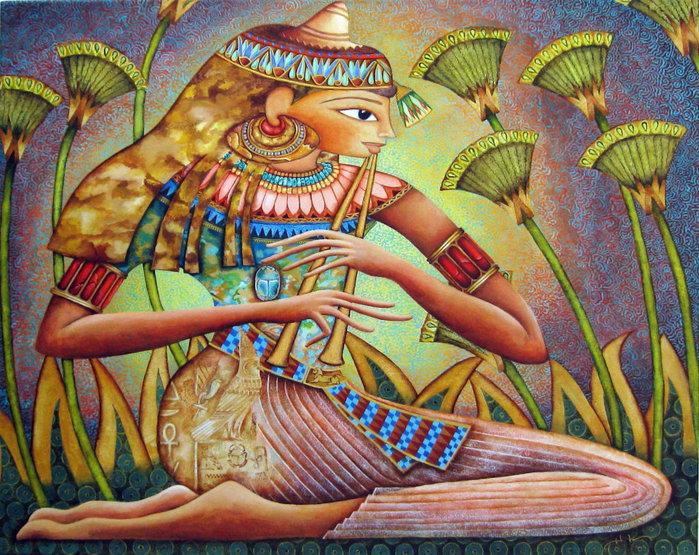 картины американской художницы Холли Сьерра 8 (700x555, 190Kb)