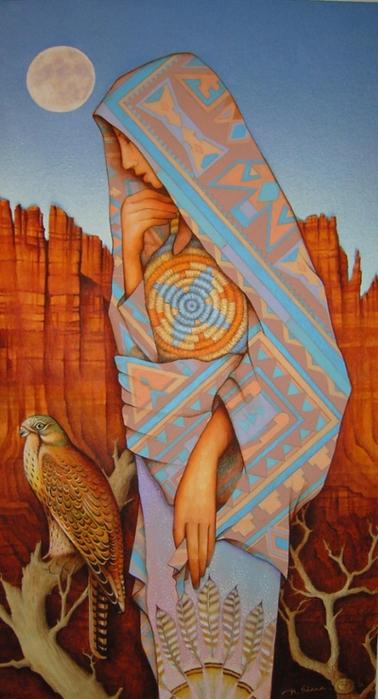 картины американской художницы Холли Сьерра 11 (378x700, 216Kb)