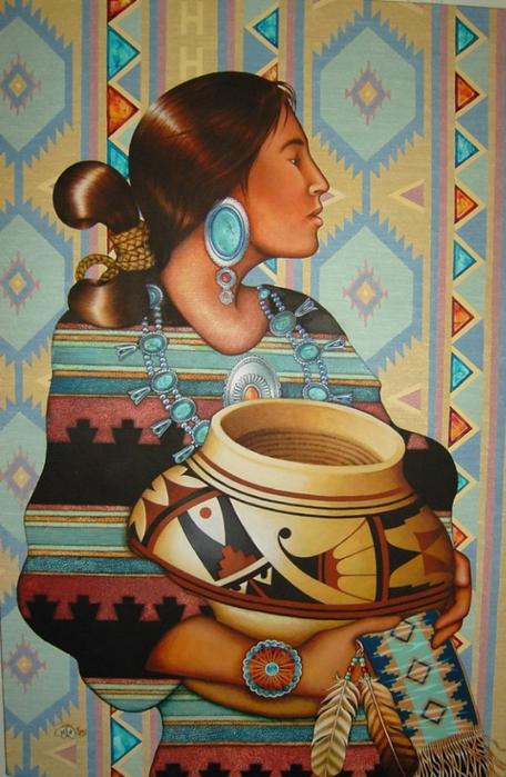 картины американской художницы Холли Сьерра 14 (456x700, 269Kb)