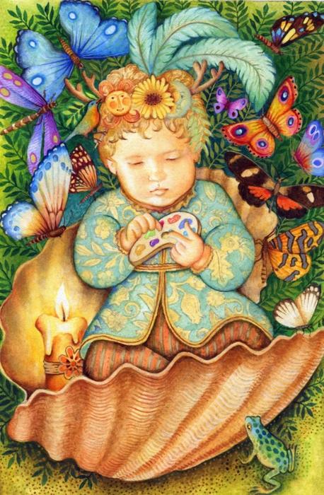 картины американской художницы Холли Сьерра 16 (458x700, 329Kb)