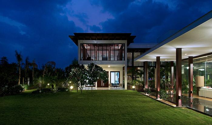 роскошный дом фото (700x413, 152Kb)