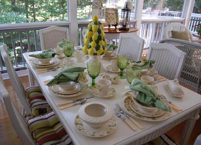 ромашковая посуда.весенняя сервировка стола (2) (700x507, 176Kb)