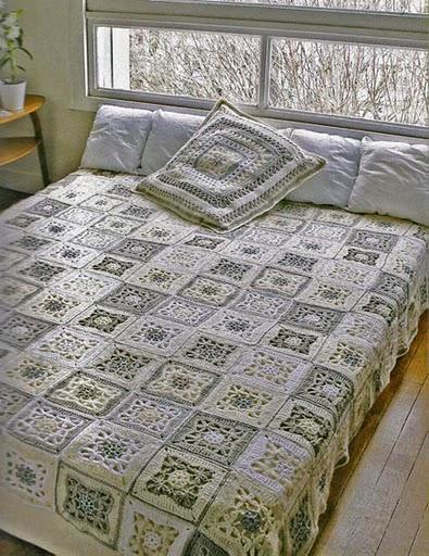 Вязаное украшение комнаты своими силами
