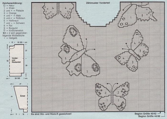 Вязаные серьги бабочки крючком