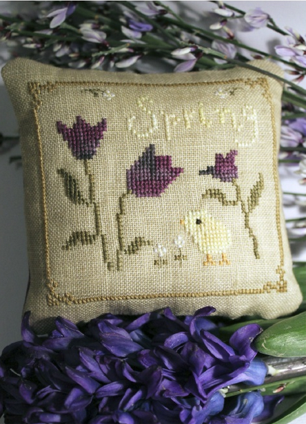 пасхальная вышивка на льняной ткани (3) (444x616, 701Kb)