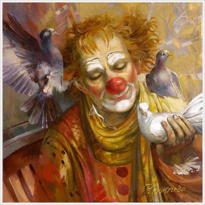 Вьюгова Римма Николаевна (Россия) «Моя голубка» 2010 (700x700, 217Kb)