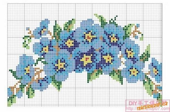 схема штор из бисера