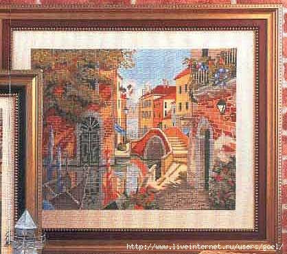 Венецианская улочка (418x371, 111Kb)