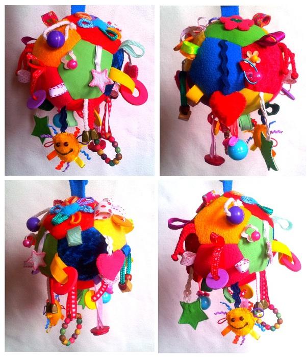 Сшить развивающую игрушку для малышей своими руками