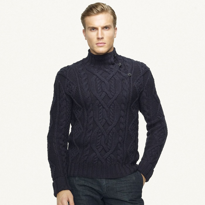 针织:拉尔夫的男式毛衣 - maomao - 我随心动